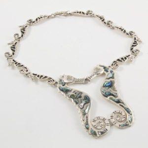 Seahorses Necklace
