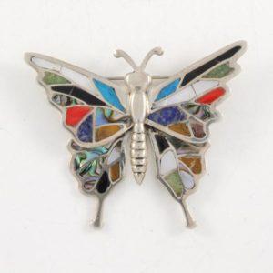 Multi Stones Butterfly
