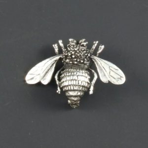 Bee Plain Brooch