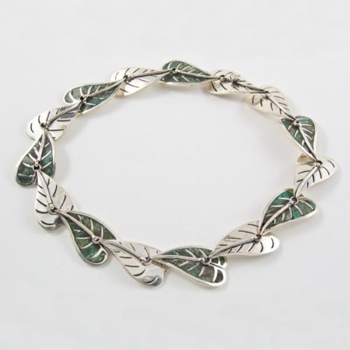 Silver & Stone Leaves