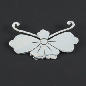 Flower Plain Brooch