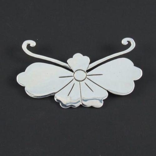 Flower Plain Brooch