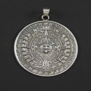 Silver Plain Medallion