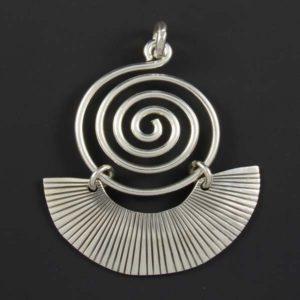 Silver Plain Pendant