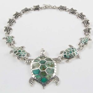 Turtle Stone Necklace