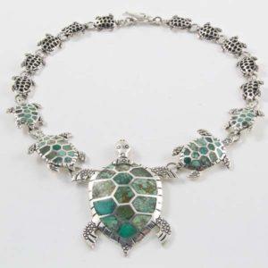 Turtle Stone Necklace