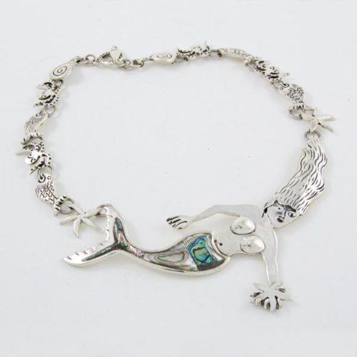 Mermaid Stone Necklace