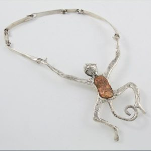 Monkey Stone Necklace