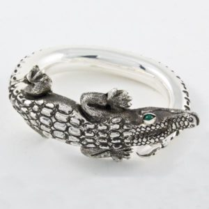 Crocodile Stone Bracelet