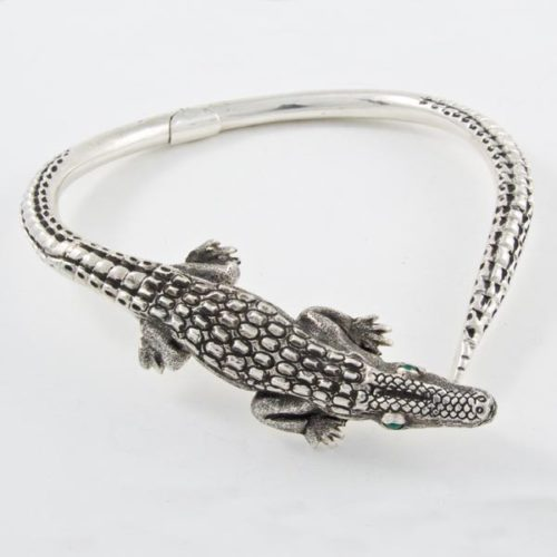 Crocodile Stone Necklace