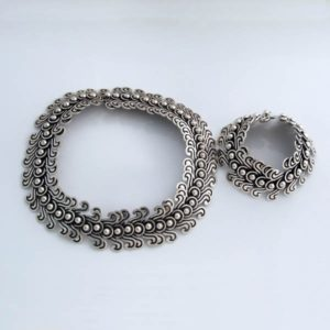 Silver Plain Set
