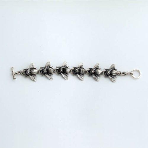 Linked Bees Bracelet