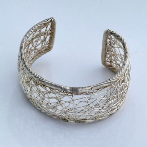 Knitted Plain Bracelet