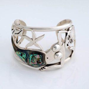 Abalone Shell Siren Bracelet