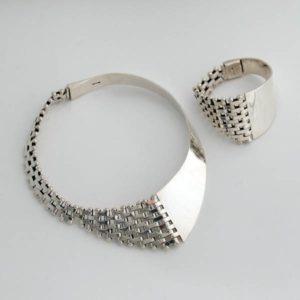 Smart Silver Plain Set