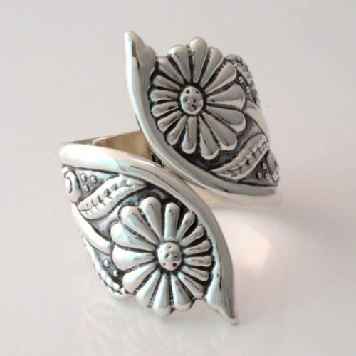 Silver Flowered Bracelet