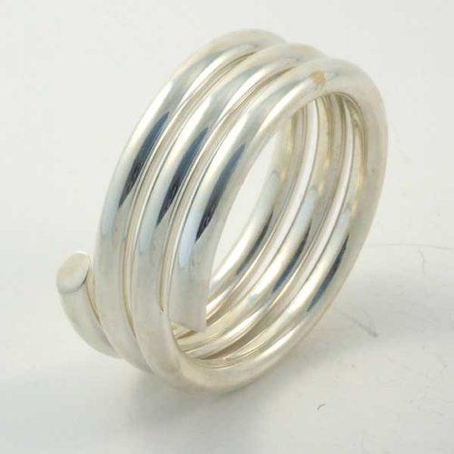 Plain Spiral Ring