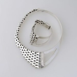 Open Petatillo Set Mexican Sterling Silver