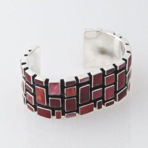 Mosaic Red Jasper Bracelet