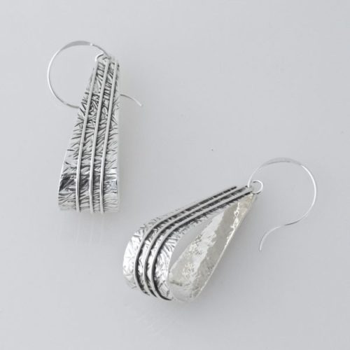 Textured Post Earring