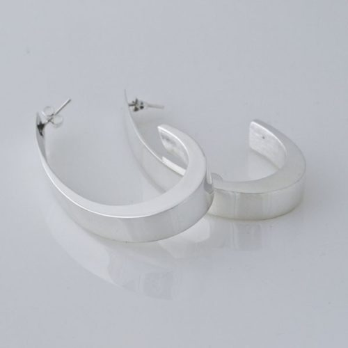 Hollow Hoops Plain