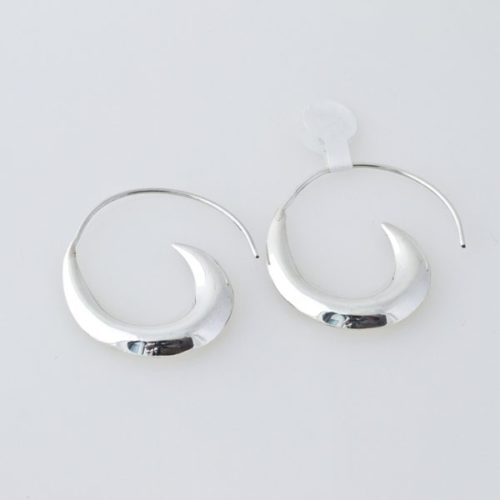 Large Hollow Hoops