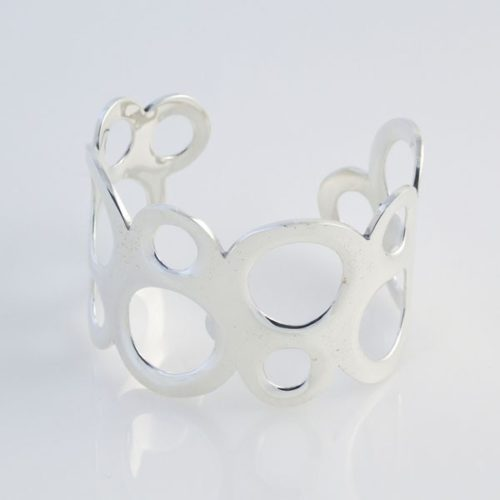 Oval Plain Bracelet Cut Out