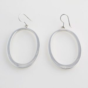 Hollow Hoop Oval Plain