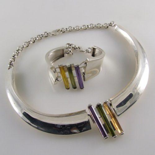 Plain Necklace & Bracelet