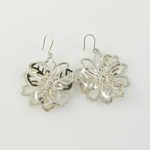 Post Cutout Flower Earrings