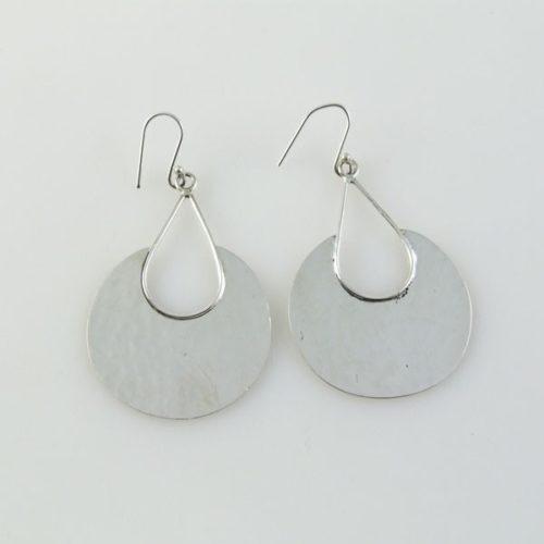Post Circular Earrings