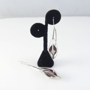 Amethyste Smokey Topaz Post Earrings