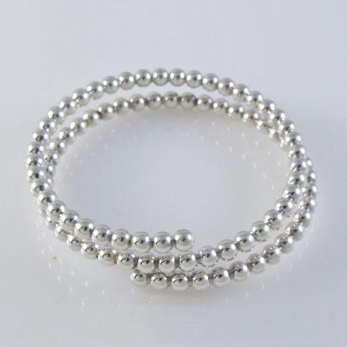Plain Spiral Bracelet