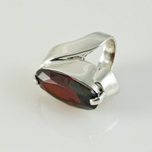 Red Topaz Ring