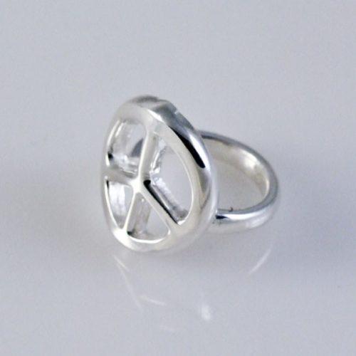 Plain Peace Ring