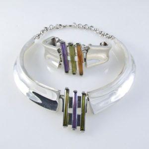 Fancy Necklace and Bracelet Set