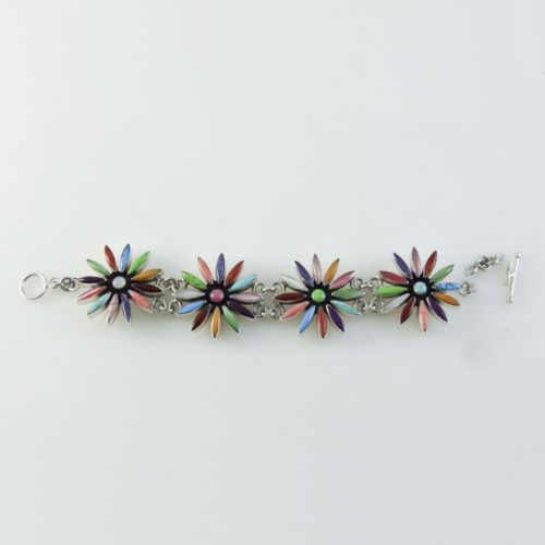 Multi Colored Stones Bracelet