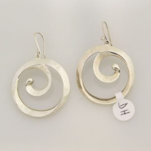 Spiral Wire Earrings