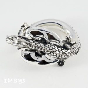 Dragon Bracelet Mexican Sterling Silver