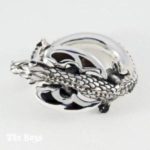 Dragon Bracelet Mexican Sterling Silver