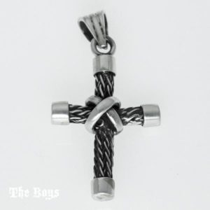 Cross Pendant Mexican Sterling Silver