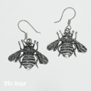Earrings Small Bees Mexican Sterling Silver