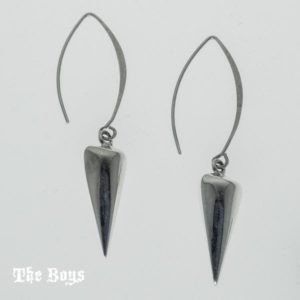 Earrings Small Cones Mexican Sterling Silver