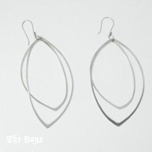 Earrings Leaves Mexican Sterling Silver