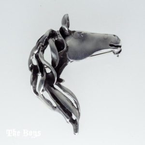 Horse Head Pendant Mexican Sterling Silver