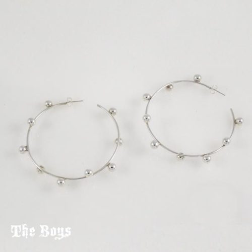 Hoops Earrings Mexican Sterling Silver