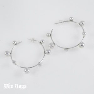 Hoops Small Earrings Mexican Sterling Silver